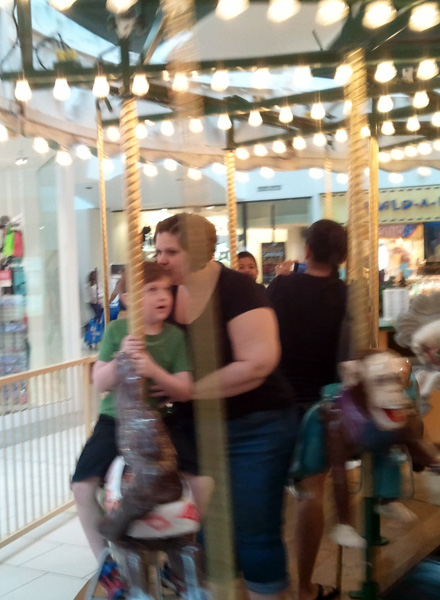 Riding the Carousel - Ava Love Hanna