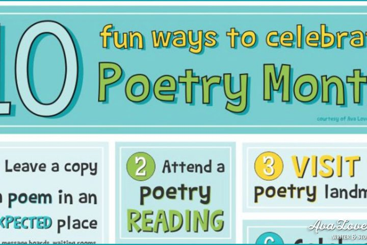 10 fun ways to celebrate poetry month